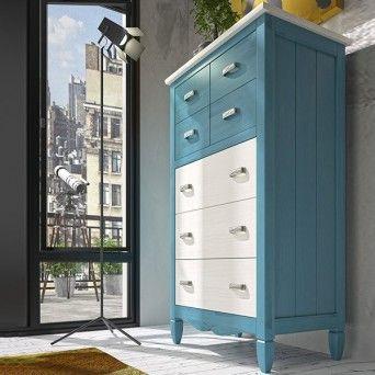 mueble chifonier de estilo rustico