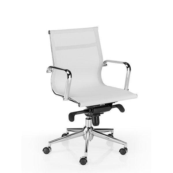 comprar online silla de oficina Berlín respaldo bajo Euromof en Muebles Lara