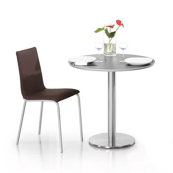 Comprar online mesa redonda laminada Zama