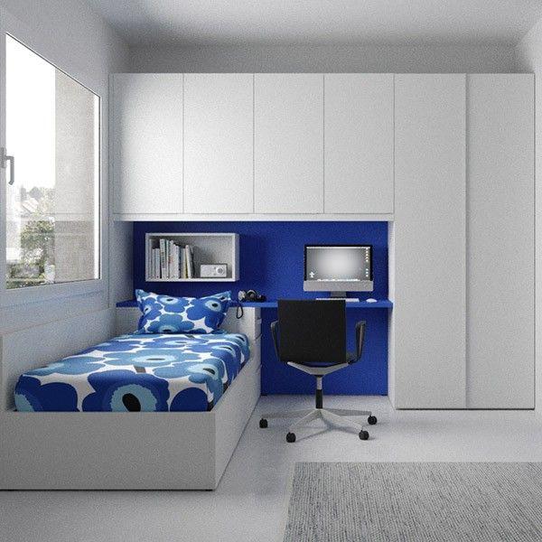 Comprar online dormitorio juvenil con cama abatible