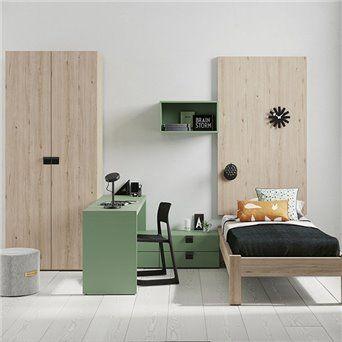 Comprar online dormitorio juvenil con zona de estudio