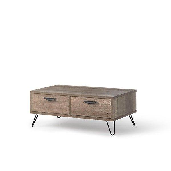 mesa moderna madera centro