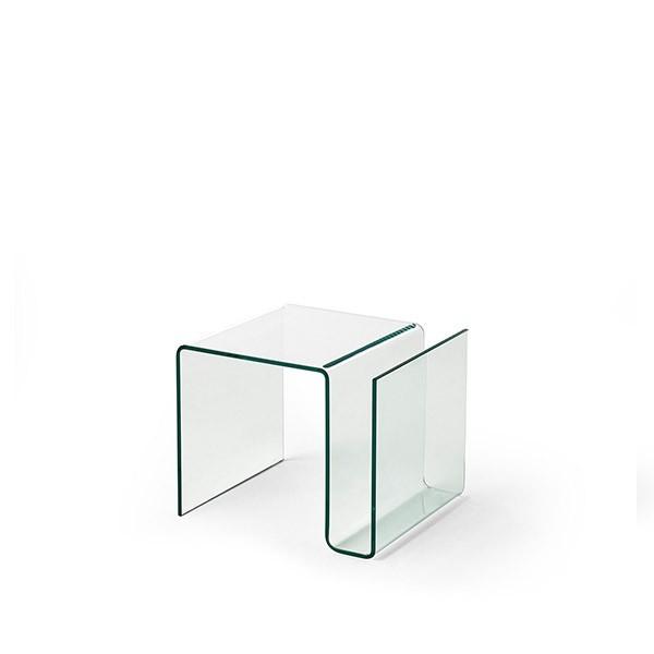 revistero freya moderno de cristal templado