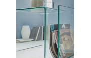 comprar online revistero moderno freya de cristal templado