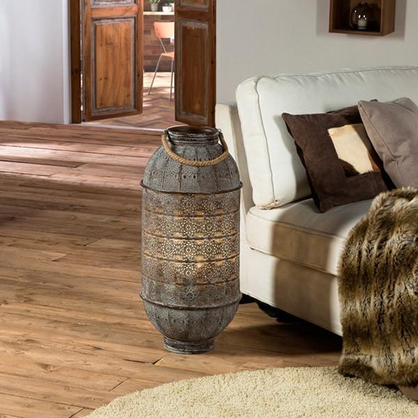 comprar online lampara de suelo de estilo rustico