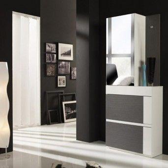 recibidor moderno en muebles lara