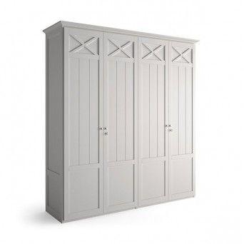 Armario moderno 4 puertas de Grupo Seys