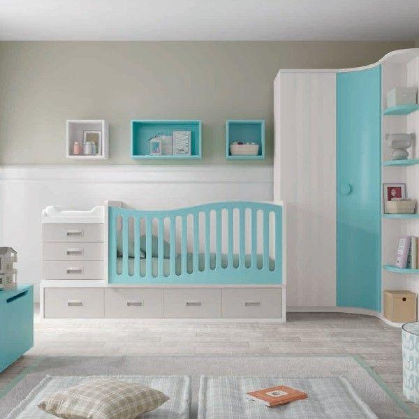 comprar dormitorio infantil con cambiador