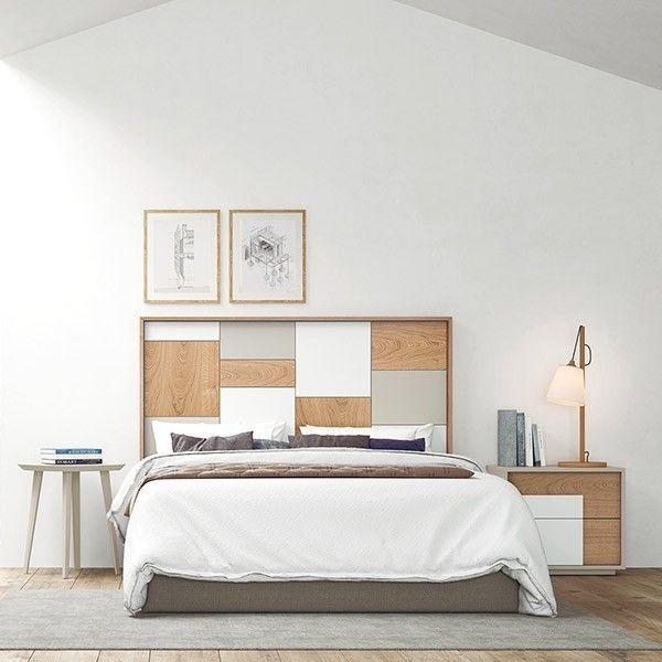 Dormitorio contemporáneo Oslo 1 en Muebles Lara