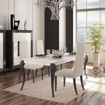 mesa de comedor de estilo contemporáneo Basik 1